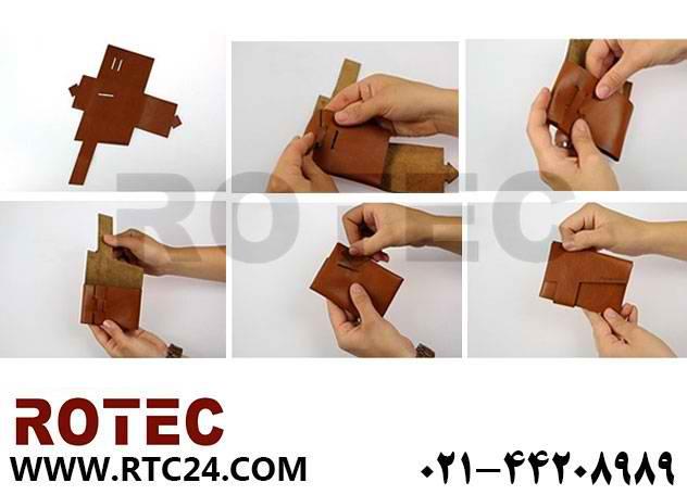 ساخت کیف چرمی دستگاه لیزر