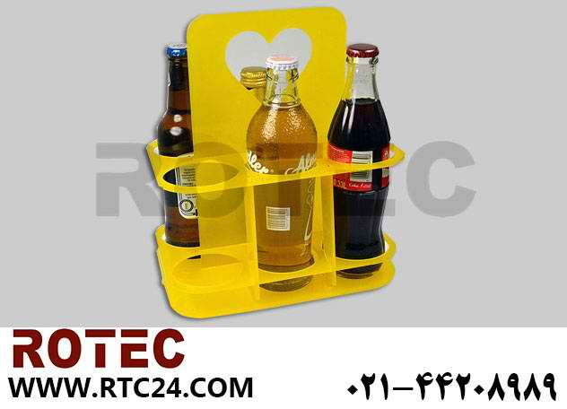 ساخت جای بطری با دستگاه لیزر