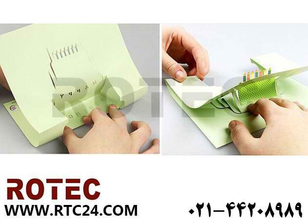 ساخت کارت تولد با دستگاه لیزر