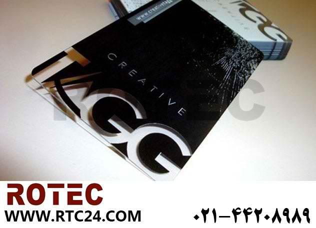 ساخت کارت ویزیت با دستگاه حکاکی و برش لیزری