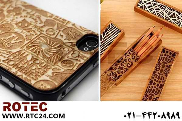 چگونه با دستگاه لیزر طرح سه بعدی چوبی درست کنیم؟
