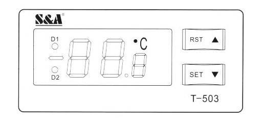 وضعیت عملکرد و تنظیم پارامترهای چیلر دستگاه لیزر