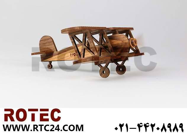 ساخت کیت ماکت هواپیما با دستگاه لیزر