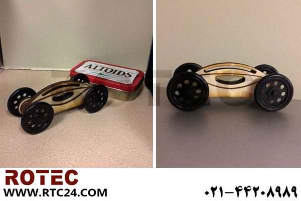 ساخت ماشین اسباب بازی با دستگاه برش لیزری