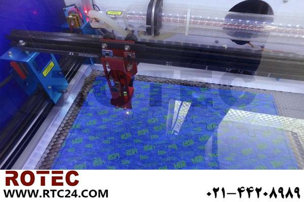 چگونه یک پازل با دستگاه لیزر درست کنیم؟